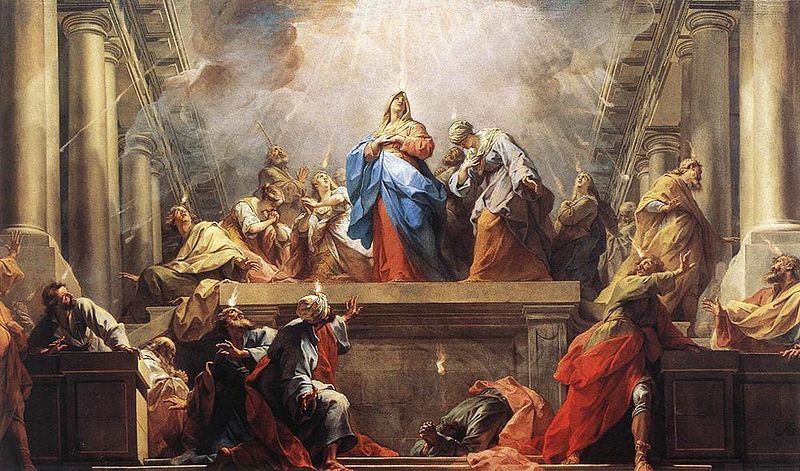 20  MAY– SOLEMNITY OF PENTECOST (Year B)