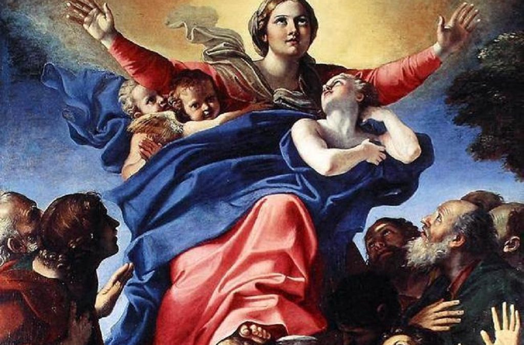 15 AUGUST: ASSUMPTION OF THE BLESSED VIRGIN MARY
