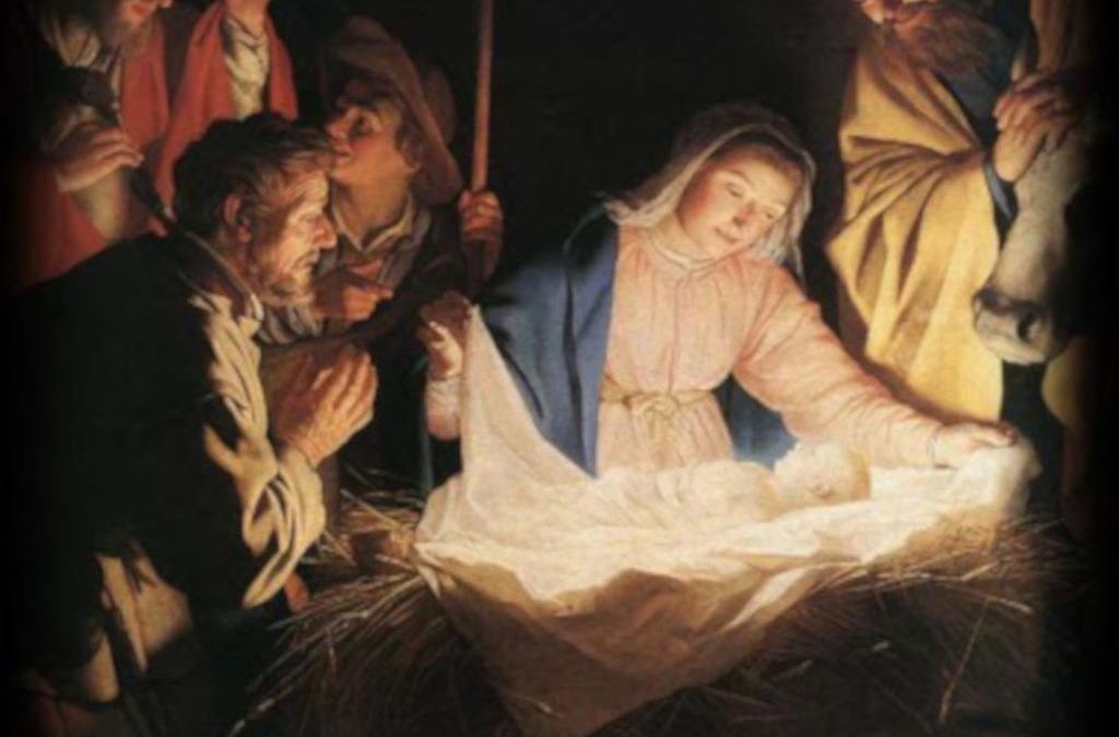 MARY HAS GIVEN US THE LIGHT OF THE WORLD